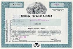 Massey Ferguson Farm Equipment Company