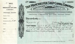 Manchester Ship Canal Company - England