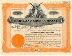 Maryland Shoe Company - Cumberland, Maryland 1913