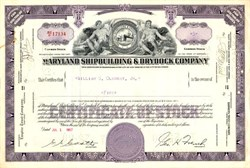 Maryland Shipbuilding & Drydock Company - Maryland 1957