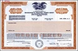 Massachusetts Industrial Finance Agency - Municipal Revenue Bond