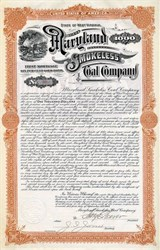 Maryland Smokeless Coal Company -  West Virginia 1903