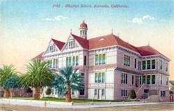 Mastick School, Alameda, California Postcard
