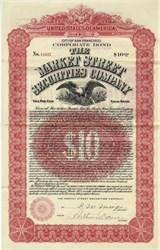 Market Street Securities Company. - San Francisco, California 1908