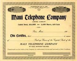 Maui Telephone Company 190_