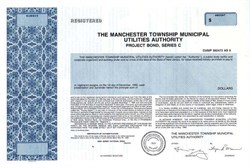 Manchester Township Municipal Utilities Authority - New Jersey 1990