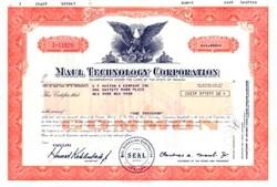 Maul Technology Corporation (L-G-M Corp) 1980