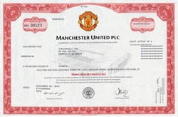 Manchester United PLC ( English professional soccer club)