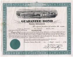Maytag Guarantee Bond 1924