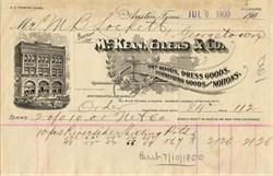 McKean, Eilers & Co.  Dry Goods and Dress Goods - Austin, Texas 1900