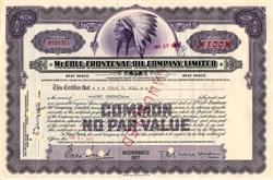 McColl Frontenac Oil Company Limited - Canada 1958