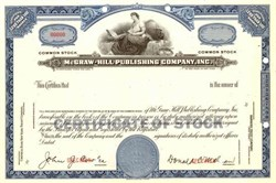 McGraw - Hill Publishing Company, Inc.