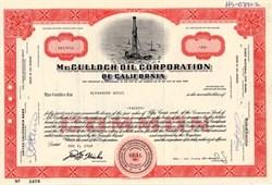 McCulloch Oil Corporation of California - Delaware 1968