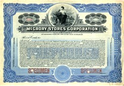 McGrory Stores Corporation - Delaware