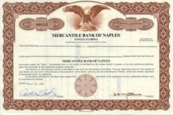 Mercantile Bank of Naples - Florida 1986