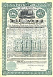 Merida City Gas Company - Merica, Yucatan, Mexico - Inc in New York 1896