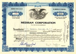 Medisan Corporation - Pennsylvania 1946