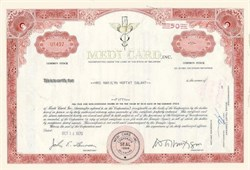 Medi Card Inc Stock Certificate