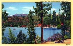 Meek's Bay and Rubicon Peaks, Lake Tahoe Postcard