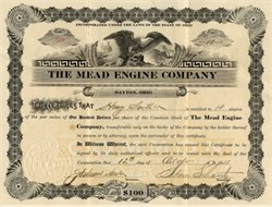 Mead Engine Company (Speedwell Motor Car ), Dayton, Ohio 1911