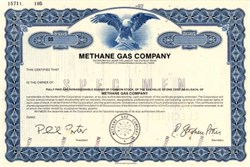 Methane Gas Company - Texas 1982