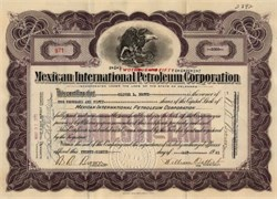 Mexican International Petroleum Corporation - Delaware 1921