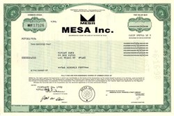Mesa Petroleum - T. Boone Pickens as President - Texas 1992
