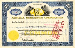 National Mercantile Corporation - New Jersey 1957
