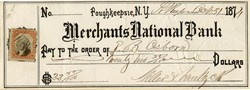 Merchants National Bank - Poughkeepsie, New York - 1874