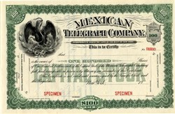 Mexican Telegraph Company - New York