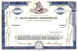 Baxter Travenol Laboratories, Inc. (Now Baxter International)