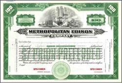 Metropolitan Edison Company ( Early GPU Company )- Pennsylvania