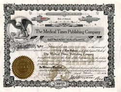 Medical Times Publishing Company - Colorado 1906