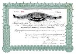 Metropolitan Wharf and Storage Company 1914 - Massachusettes