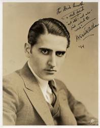 Meredith Willson Signed Photo (Wrote book, music and lyrics for Broadway musical The Music Man) - 1934
