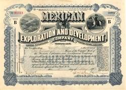 Mexican Exploration and Development Company 1903 - Territory of Arizona