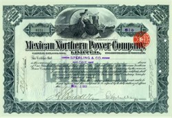 Mexican Northern Power Company, Limited 1911