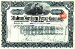 Mexican Northern Power Company 1911