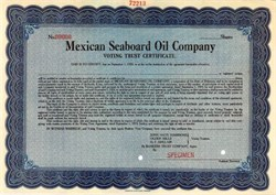 Mexican Seaboard Oil Company ( Early Seaboard Oil and Texico Company )