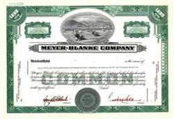 Meyer-Blanke Company - St. Louis, Missouri
