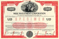 MGIC Investment Corporation (Mortgage Guaranty Insurance Corporation )  - Delaware 1969