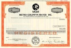 MGM Metro-Goldwyn-Mayer Inc. - Delaware 1976