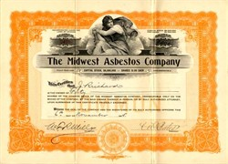 Midwest Asbestos Company - Incorporated in Arizona 1915