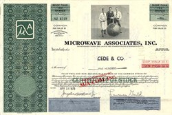 Microwave Associates, Inc. (Became M/A Com) - Massachusetts 1978