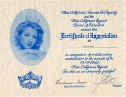 Miss California Deanna Rae Fogarty - California 1979-1980