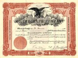 Millergraph Company - New York 1911