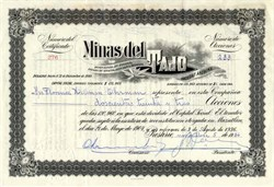 Minas del Tajo - Mexico 1936