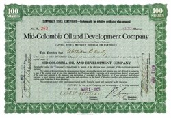 Mid-Colombia Oil and Development Company