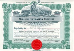 Midland Operating Company 1909 - Territory of Arizona