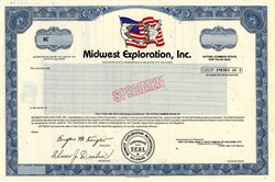 Midwest Exploration, Inc. - Oklahoma 1981
